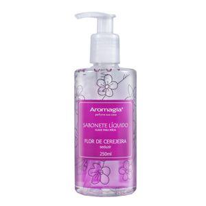 Sabonete-Liquido-para-as-Maos-Aromagia---Flor-de-Cerejeira-250ml
